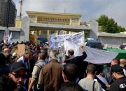 Rassemblement de syndicalistes réclamant le départ du SG de l'UGTA