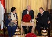 Le Président Bouteflika reçoit l'ancienne présidente d'Indonésie